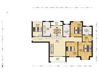 (伍家岗区)东南岸4室2厅2卫83万131.1m²出售